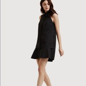 Kit and Ace All Buttoned Up Shirt Dress Black 10
